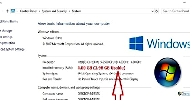 Cara Mengatasi RAM Usable di Windows 10 64 bit