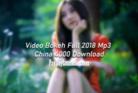 Video Bokeh Full 2018 Mp3 China 4000 Download