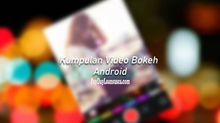 video bokeh android